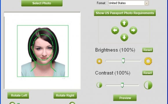 Free passport photo software