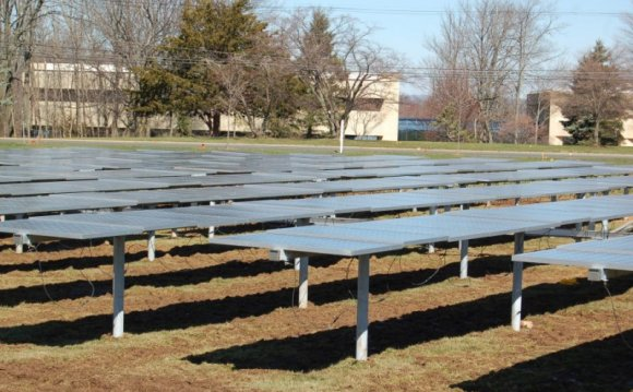 New Solar Panel System to