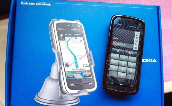 Nokia 5800 XpressMusic Symbian
