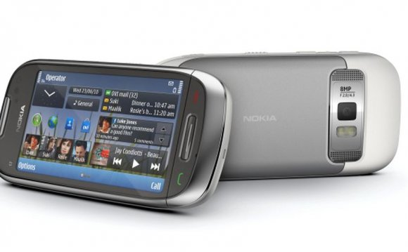 The Nokia C7, also known as