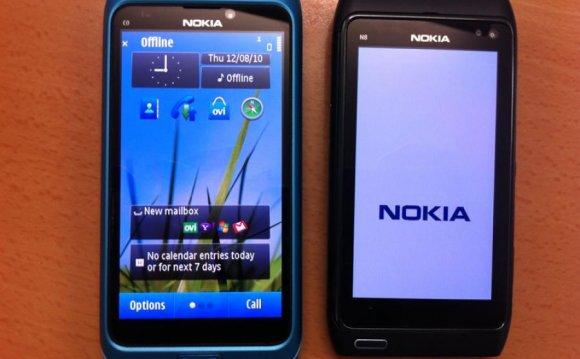 Nokia E7 and N8