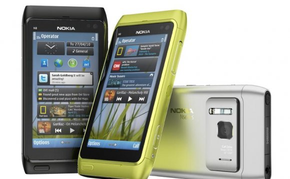 Nokia N8 colours