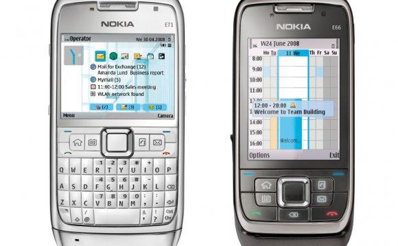Nokia E71 and E66