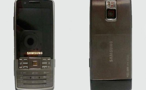 Samsung B5100 front and back