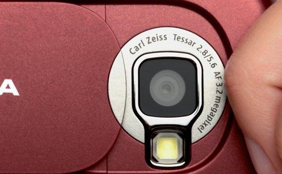 Nokia N73 camera close up