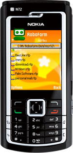 RoboForm for Symbian
