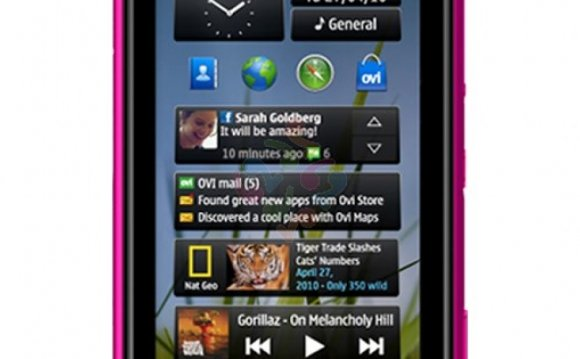 Specifications of Nokia N8